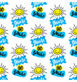 shine and smile seamless patterncute texture vector image vector image