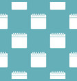 calendar pattern seamless blue vector image vector image