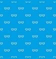 eyeglasses pattern seamless blue vector image vector image