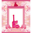 floral invitation to the prom dance vector image