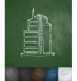 high-rises icon vector image
