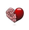 Love and wisdom symbol vector image