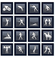 Olympiad Sport Icons vector image vector image