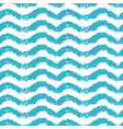 seamless pattern with waves for summer time theme vector image