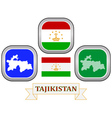 symbol of Tajikistan vector image