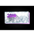 New Year Greetings card vector image