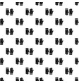 cleaning gloves pattern seamless vector image vector image