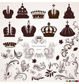 Crown and Vintage Ornament Design