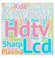 hdtv reviews2 1 text background wordcloud concept vector image vector image