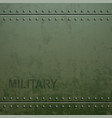 old military armor texture with rivets metal vector image vector image