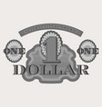 protective gray guilloche mesh pattern dollar vector image vector image
