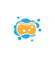 sponge icon design template isolated vector image