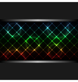 abstract neon business background vector image