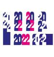 2022 vector image vector image