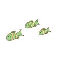 aquarium fish vector image vector image