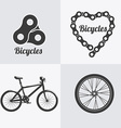 Bike design vector image vector image