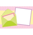 Blank background for greetings card vector image vector image