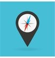 gps service design vector image vector image