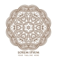 Ornamental round paisley pattern vector image vector image