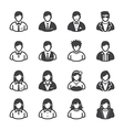 People Icons and User Icons vector image vector image