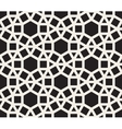 Seamless Black and White Tessellation vector image vector image