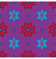 seamless pattern with colored shapes vector image vector image