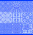 set modern and ancient seamless greek patterns vector image vector image
