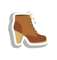 shoe icon image vector image vector image