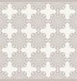oriental seamless geometric fabric pattern vector image