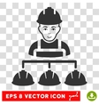 Builder Management EPS Icon vector image vector image