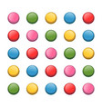 colored push pin vector image vector image
