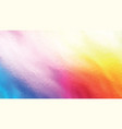 colorful geometric polygonal flame background vector image vector image