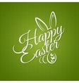 easter vintage lettering design background vector image vector image