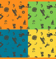 four background in different colors vector image vector image
