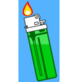 Gas lighter icon vector image vector image