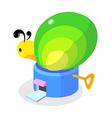 icon animal building vector image vector image