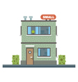 Small business center offices vector image vector image