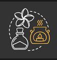 spa salon chalk concept icon vector image
