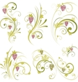 wine design ornament vector image vector image