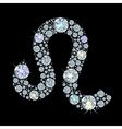 zodiac Leo vector image vector image