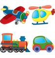Cartoon transport vector image vector image