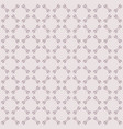 cute ornamental seamless pattern grid lace vector image