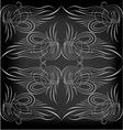 Pinstriping 1 vector image vector image
