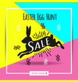 poster for happy easter 13 vector image vector image