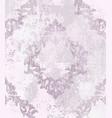 vintage damask pattern ornament royal vector image vector image