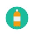 Juice water bottle vector image
