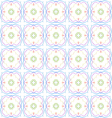 Abstract color repeating pattern