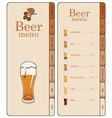 beer website vector image