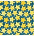 Children seamless pattern with stars vector image vector image