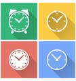 clock - icon vector image